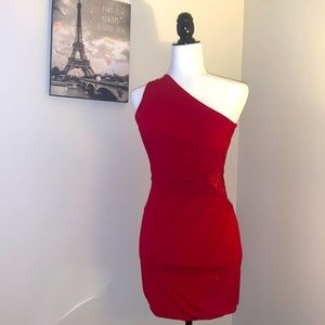ECLIPSE | one shoulder dress